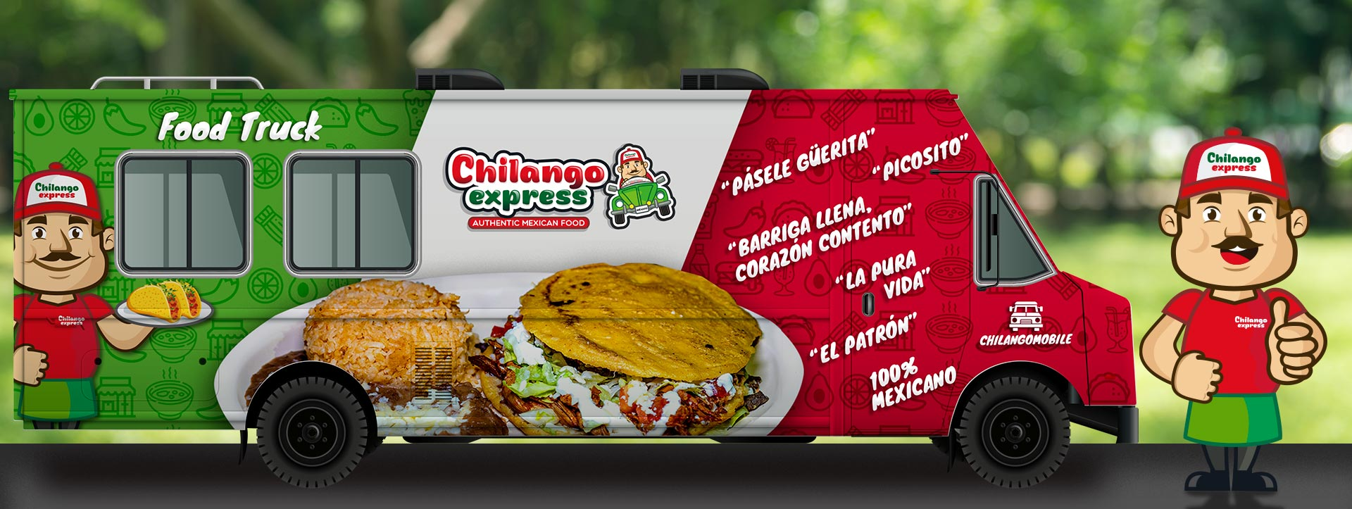Chilango Express, authentic Mexican food